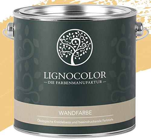 Lignocolor Wandfarbe Innenfarbe Deckenfarbe Kreidefarbe edelmatt 2,5 L (Sierra Nevada)