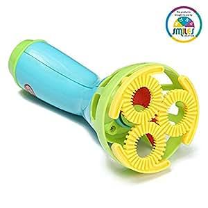 Smiles Creation Funny Time Bubble Spray Gun Game Set Toy