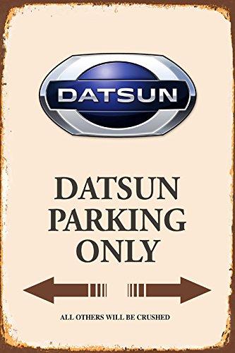 Datsun Parking only park schild tin sign schild aus blech garage
