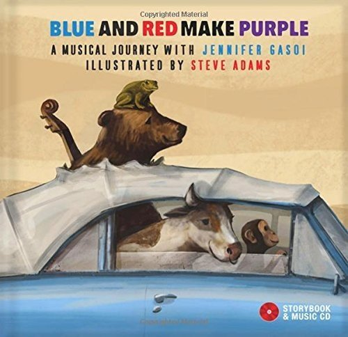 Blue and Red Make Purple: A Musical Journey with Jennifer Gasoi