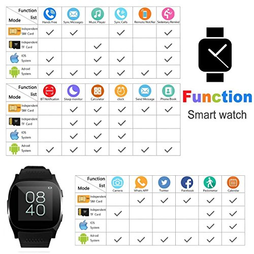 Zoom IMG-2 keepgoo orologio smart bluetooth intelligente