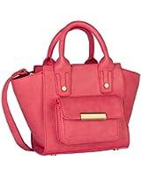 """SIX """"SALE"""" kleine pinke Damen Handtasche Mini Bag Henkeltasche mit abnehmbaren größenverstellbaren Umhänge-Riemen Innenfach Reißverschluss (427-084)"""