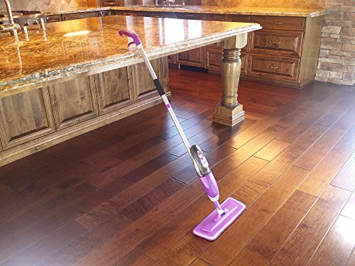 Vorfreude floor spray mop lifetime replacement 700ml safer for Steam mop concrete floors