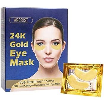 Under Eye Mask, Collagen Eye Mask, 24K Gold Eye Masks, Anti