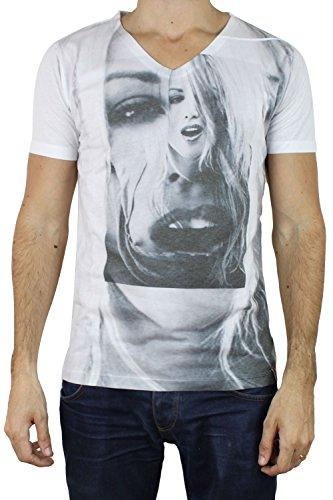 French Kick -  T-shirt - Uomo bianco L