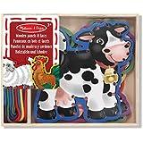 Melissa & Doug 13781 Farm Animals Lace and Trace Panels