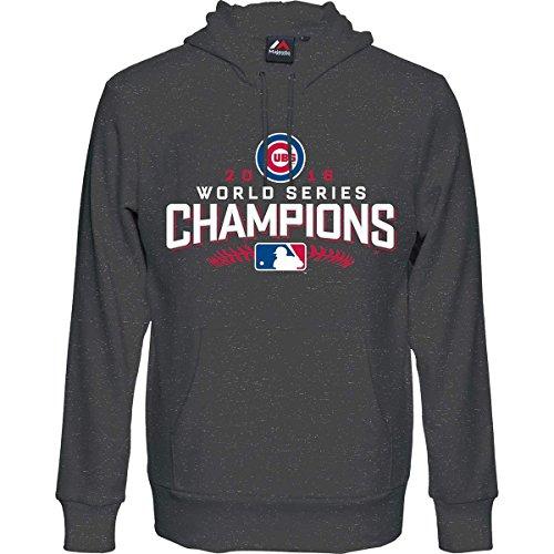 MLB Baseball Hoody Hoodie Kaputzenpullover Sweater CHICAGO CUBS World Series Champions 2016 (M) (Sweatshirt Cub Hoodie)