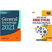 General Knowledge 2021+Analytical Reasoning (2018-2019) Session by MK Panday(Set of 2 books)