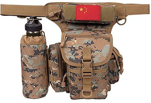 ZLL/ Impermeabile borsa gamba equitazione sport utilità gambe tattico gamba confezioni appassionati militari tasche coscia , lines of desert. jungle