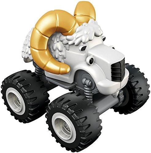 Blaze y los Monster Machines - Vehículo básico Camión Longues Cornes (Mattel CKK64)