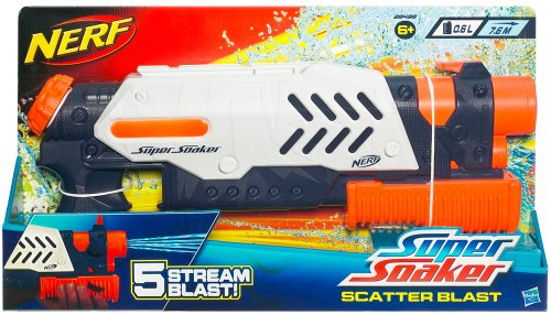 nerf super soaker blast scatter pistolet nerf. Black Bedroom Furniture Sets. Home Design Ideas