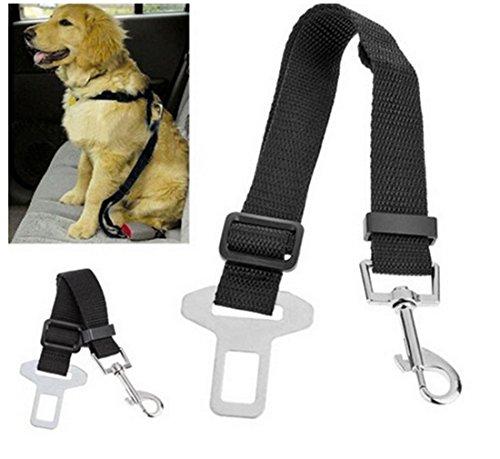 Doutop Hundegeschirr Auto Hunde Sicherheitsgurt 2er Pack Hundegurt für Kleine Große Hunde Einstellbar - 5