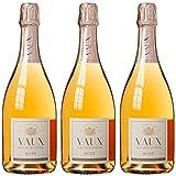 Schloss Vaux Cuvée Rose Brut 2015 Trocken (3 x 0.75 l)