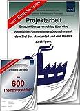 Technischer Betriebswirt TBW – Projektarbeit + Präsentation IHK Unternehmensübernahme Akquisition +