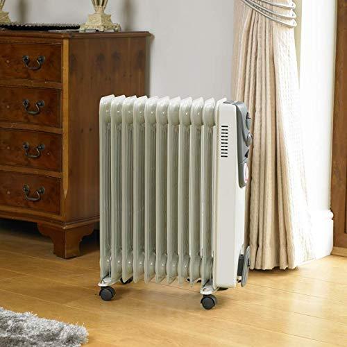HomeZone Öl Gefüllt Heizkörper Eclectic 500W 700W 1000W 1500W 2000W 2500W 5 7 9 11 Rippenrohr Personal Space Wärmflasche Verstellbar Thermostat Ausgeschaltet Sicherheit Schalter Mehrfach Hitze -