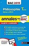 annales abc du bac 2015 philosophie term l es s