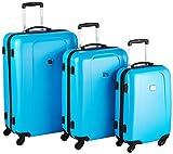 HAUPTSTADTKOFFER Koffer-set Hartschale Koffer-Set, 212 Liter, Cyanblau