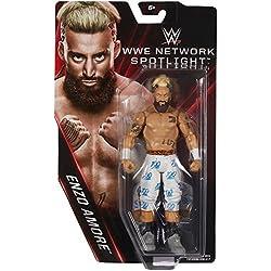 WWE ENZO AMORE certificata G - RETE ESCLUSIVO MATTEL BASE wrestling action figure - cruiserweight CAMPIONE 205 ENERGIA Grezza