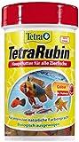 TetraRubin Hauptfutter (für Zierfische, für intensive Farbenpracht mit natürlichen Farbverstärkern, plus Präbiotika für verbesserte Körperfunktionen und Futterverwertung), 100 ml Dose
