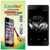 Casotec 2.5D Curved Edge Tempered Glass Screen Protector for Micromax Canvas 5 E481