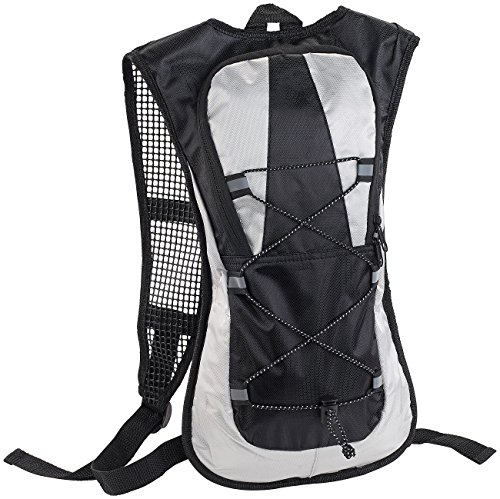 Xcase Fahrradrucksack: Ultraleichter Fahrrad-Rucksack mit Reflektoren, wasserabweisend, 5 l (Velorucksack)