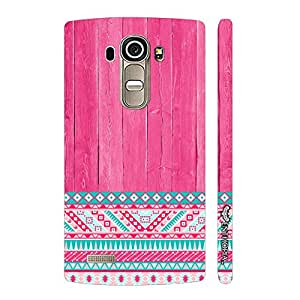 LG G4 Woody Aztec Thirteen designer mobile hard shell case by Enthopia