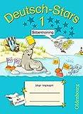 Deutsch-Stars - Allgemeine Ausgabe: 1. Schuljahr - Silbentraining: Übungsheft. Mit Lösungen