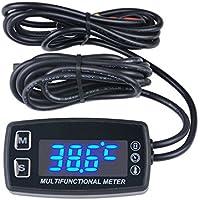Runleader RL-HM035LT, Tacómetro, termómetro y medidor de hora