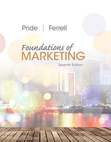 Foundations of Marketing (Marketing-strategie Ferrell)