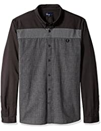 Fred Perry Men's Mix Panel Shirt