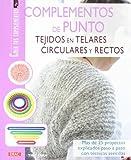 Complementos de punto tejido en telares circulares y rectos