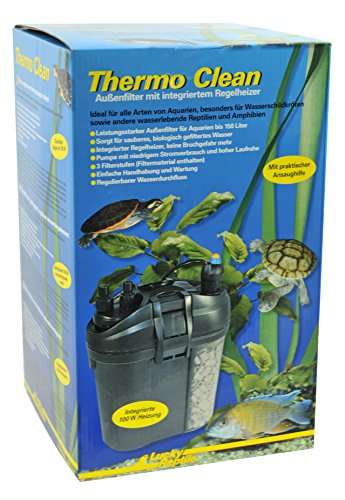 Lucky Reptile TCF-150 Thermo Clean 150, Außenfilter für Wasserschildkröten (Watt 150 Aquarium-wasser-heizung)