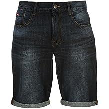 Lee Cooper Hombre Regular Denim Shorts Pantalones Cortos Casual Ropa De Abajo