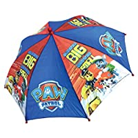 Chanos Paw Patrol Safety Runner Polyester Taslon Folding Umbrella, 37 cm, Blue