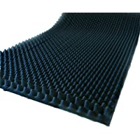 Noppenschaum 2-10cm Schalldämmung Isolierung Akustik (206 x 100cm, 4cm)