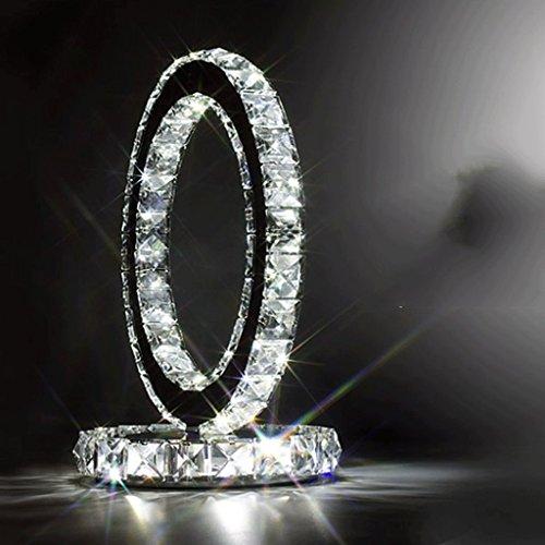 WW Led Dekorative Lampe Kristall Tischlampe Schlafzimmer Lampe Nachttischlampe Modernen Minimalistischen Wohnzimmer Schrank