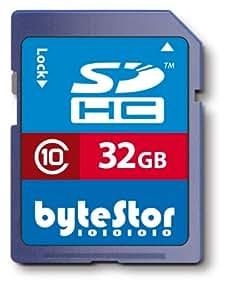 ByteStor 32GB SDHC Class 10 Memory Card