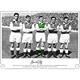HAND SIGNED LIMITED EDITION PHOTO HIBERNIAN 1955 LAWRIE REILLY