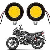 Autofy Universal Super Loud Auto Four Tune Bike Horn/Siren for All Bikes (Black)