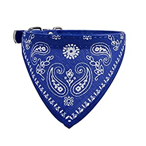 Collier chien réglable Puppy chat Neck Scarf Bandana Collier Foulard