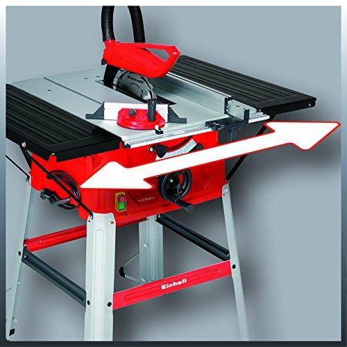Einhell Tischkreissäge TC-TS 2025/1 U (2000 W, Sägeblatt Ø 250 x Ø 30 mm, max. Schnitthöhe 85 mm, Tischgröße 640×487 mm) - 5