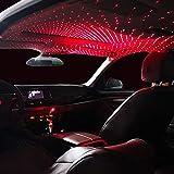 CarEmpire Car USB Atmosphere Ambient Star Light car Interior Lights LED Decorative armrest Box car roof Full Star…