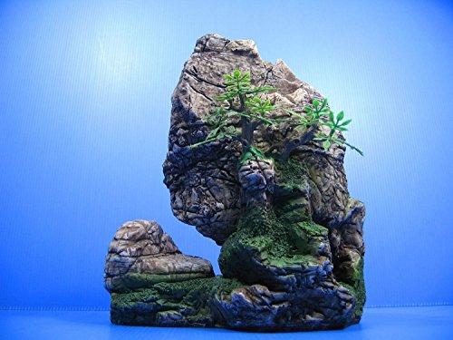 mountain-view-aquarium-ornament-tree-rock-cave-stone