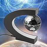 Kacanna C-Form LED Weltkarte Dekoration Magnetic Levitation Schwebender Globus Licht