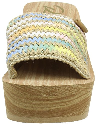 Rocket Dog Hills Damen Zehentrenner Beige (NATURAL EA5)
