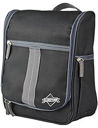 Globeproof® Neceser de viaje / Bolsa de aseo plegable con muchos compartimentos y gancho resistente