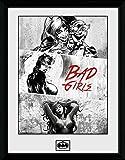 GB Eye Gerahmtes Foto 16x 12Zoll Batman Comic Bad Mädchen, Mehrfarbig