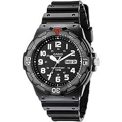 Casio MRW200H-1BV - Reloj de pulsera Hombre, Resina, color Negro