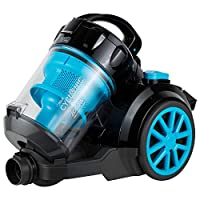 Black+Decker Bagless Cyclonic Canister Vacuum Cleaner, 1800W Multi Color - Vm2080-B5