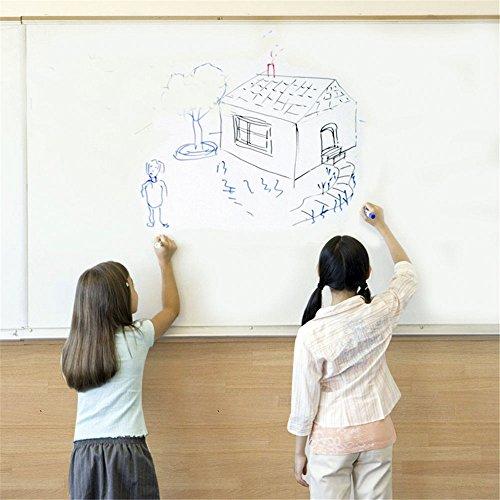 cusfull-autocollant-tableau-effacable-auto-adhesif-sticker-blackboard-stickers-muraux-multiusage-pou